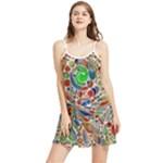 Pop Art - Spirals World 1 Summer Frill Dress