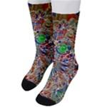 Pop Art - Spirals World 1 Men s Crew Socks