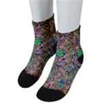 Pop Art - Spirals World 1 Men s Low Cut Socks