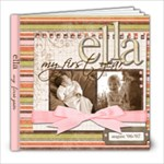 ella months - 8x8 Photo Book (20 pages)