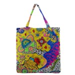Supersonicplanet2020 Grocery Tote Bag