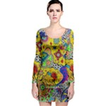 Supersonicplanet2020 Long Sleeve Bodycon Dress