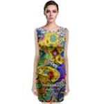 Supersonicplanet2020 Classic Sleeveless Midi Dress