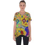 Supersonicplanet2020 Cut Out Side Drop Tee