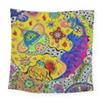 Supersonicplanet2020 Square Tapestry (Large)