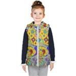 Supersonicplanet2020 Kids  Hooded Puffer Vest