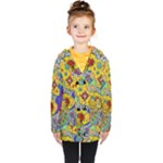 Supersonicplanet2020 Kids  Double Breasted Button Coat