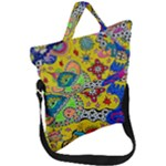 Supersonicplanet2020 Fold Over Handle Tote Bag