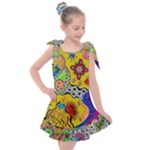 Supersonicplanet2020 Kids  Tie Up Tunic Dress