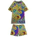 Supersonicplanet2020 Kids  Swim Tee and Shorts Set