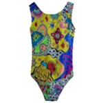Supersonicplanet2020 Kids  Cut-Out Back One Piece Swimsuit