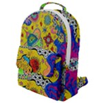 Supersonicplanet2020 Flap Pocket Backpack (Small)