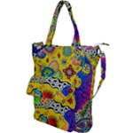 Supersonicplanet2020 Shoulder Tote Bag
