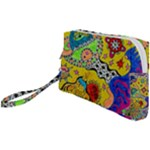Supersonicplanet2020 Wristlet Pouch Bag (Small)
