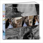 black and white wedding book - 8x8 Photo Book (20 pages)
