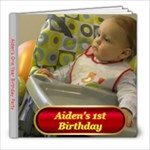 Aiden Birthday album - 8x8 Photo Book (20 pages)