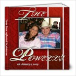 Powell Album - 8x8 Photo Book (30 pages)