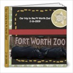 Ft Worth Zoo - 8x8 Photo Book (20 pages)