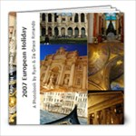 European Holiday 2007 - 8x8 Photo Book (20 pages)