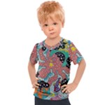 Supersonic Spaceopus Kids  Sports Tee