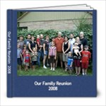 our family reunion 2008 - 8x8 Photo Book (20 pages)