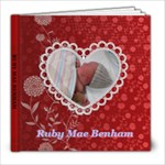 RUBY - 8x8 Photo Book (20 pages)