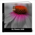 Flower Photo Book - 8x8 Photo Book (20 pages)