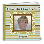 HDILY Braden - 8x8 Photo Book (20 pages)