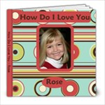 HDILY Rose - 8x8 Photo Book (20 pages)