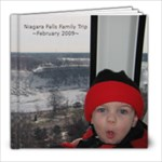 Niagara Falls ~ Feb. 2009 - 8x8 Photo Book (20 pages)