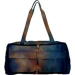 golden blue sky Multi Function Bag