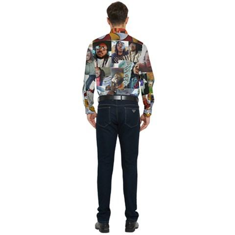 Men s Long Sleeve Pocket Shirt