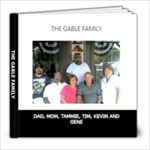 THE GABLE FAMILY - 8x8 Photo Book (20 pages)