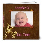 Londy-Lou - 8x8 Photo Book (20 pages)