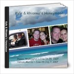 Honeymoon - 8x8 Photo Book (20 pages)