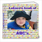 lukasz s ABC book for his 2nd bday - 8x8 Photo Book (20 pages)