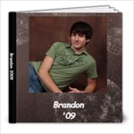 Brandon Senior - 8x8 Photo Book (20 pages)