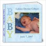 lukasz birth book - 8x8 Photo Book (20 pages)