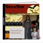 Halloween Memories - 8x8 Photo Book (20 pages)