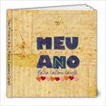 Meu Primeiro Ano - Pietra - 8x8 Photo Book (30 pages)