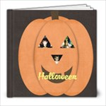 Halloween Book - 8x8 Photo Book (39 pages)