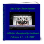 Cheer Nationals  - 8x8 Photo Book (20 pages)