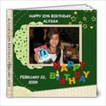 alys 10th - 8x8 Photo Book (20 pages)