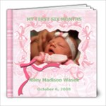 Baby Riley Album - 8x8 Photo Book (20 pages)