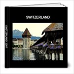 Switzerland - 8x8 Photo Book (20 pages)