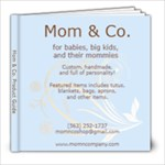 Mom & Co. Book - 8x8 Photo Book (20 pages)