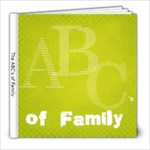 alphabet book - 8x8 Photo Book (20 pages)