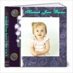 Hannah year 1 to 2 - 8x8 Photo Book (20 pages)