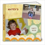 MATEY-KUPONI - 8x8 Photo Book (20 pages)