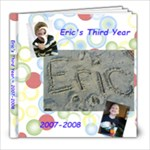 Eric s third year - 8x8 Photo Book (39 pages)